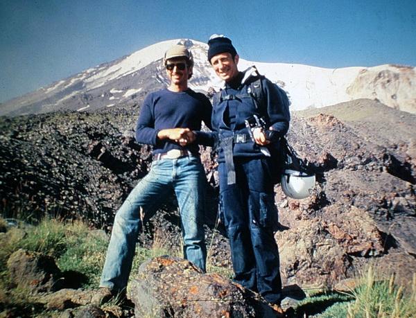 John McIntosh and James Irwin at Mt. Ararat