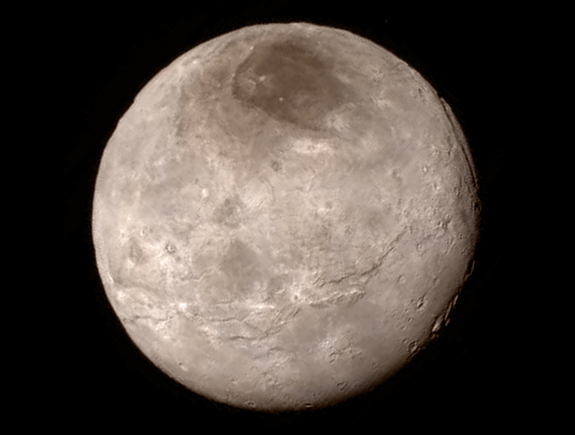 Charon from New Horizons, July 14, 2015
